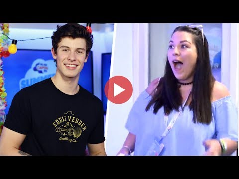 Shawn Mendes Surprised A Fan Backstage At #CapitalSTB (10/06/2017)