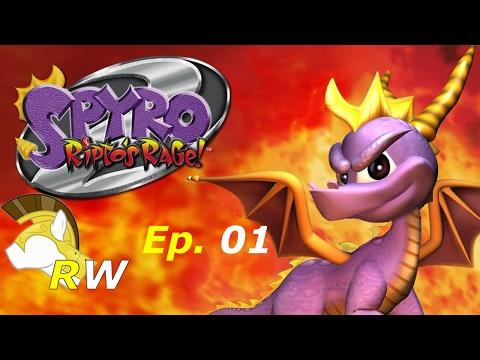 Spyro 2: Ripto's Rage - Episode 1: Re-enter the Dragon - RW Plays