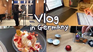 [독일유학생 Vlog] 학교 잘가고, 잘먹고, 잘쉬기 …