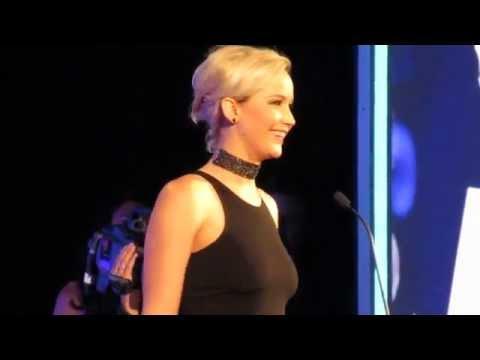 Jennifer Lawrence GLAAD Media Awards New York City 2016