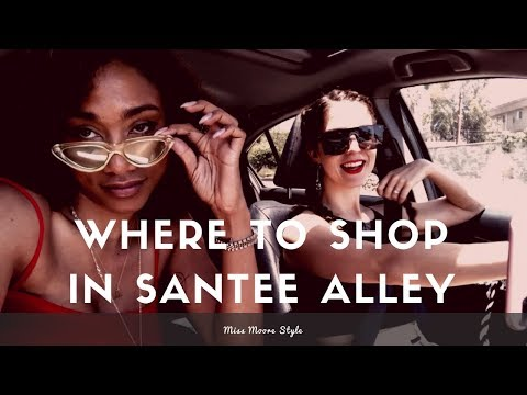 Where to Shop in Santee Alley | Downtown LA Shopping Vlog