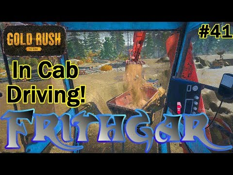 Let's Play Gold Rush The Game #41: Trying In Cab Driving!