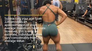 HEART RATE DURING EXERCISE (Brazlian She Hulk Booty Workout Alessandra Alvez)