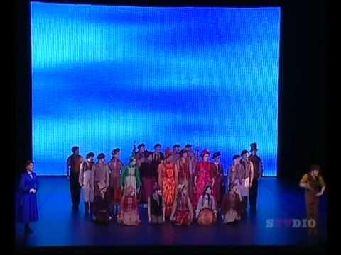 Cast of Mary Poppins Australia - Supercalifragilisticexpialidocious   Helpmann Awards 2010 .