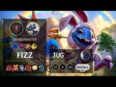Fizz Jungle vs Trundle - EUNE Grandmaster Patch 10.15