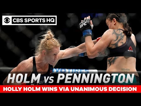 Holly Holm Defeats Raquel Pennington Via Unanimous Decision   UFC 246   CBS Sports HQ