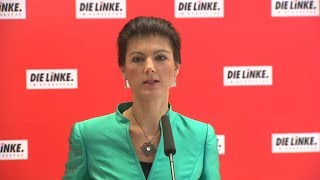 LINKE: Wagenknecht zur AfD-Prüfung durch den Verfassungsschutz