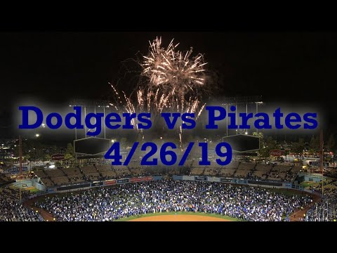 Cody Bellinger Sets A New MLB Record And Dodgers Win Their First Game Against The Pirates