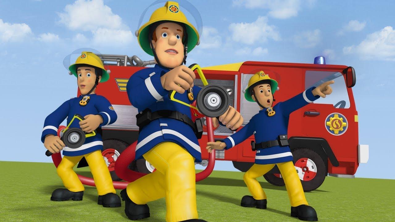 Sam Le Pompier Version Francaise Entoure De Feu Compilation