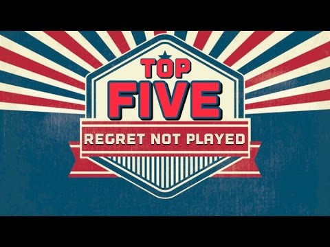 TOP 5 GAMES REGRET NOT PLAYING | PartyPlayGaming TAG VIDEO | The Retrollectors