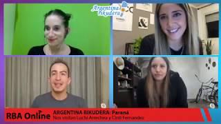 #ArgentinaRikudera: Paraná - Entrevista a Luchi Arrechea y Cinti Fernandez