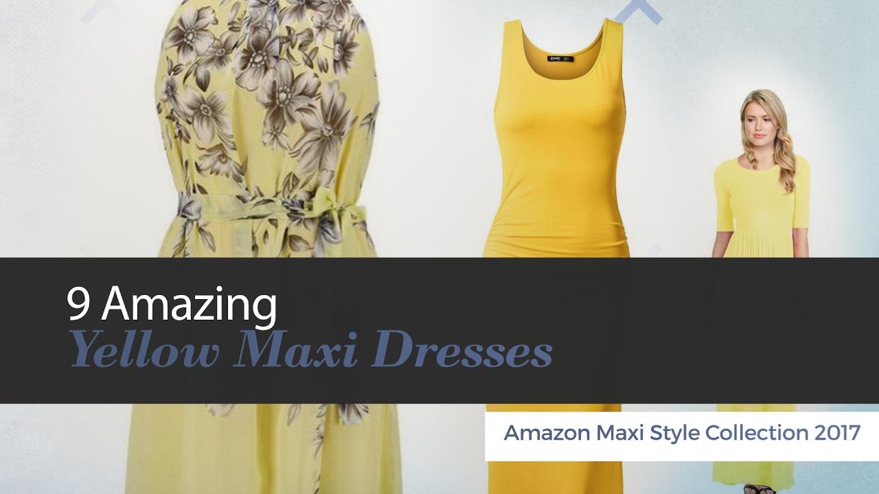 5431514b6f5c 9 Amazing Yellow Maxi Dresses Amazon Maxi Style Collection 2017 ...