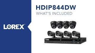 Unboxing the Lorex HDIP844DW Home or Business Security System