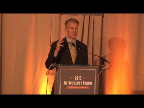 Senator Lankford Keynote Speech at 2016 Heritage Antipoverty Forum