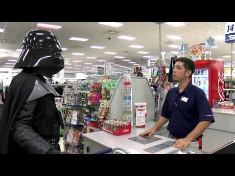 Darth Vader Goes Shopping