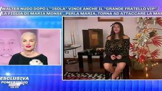 """Perla Maria contro la Marchesa d'Aragona/ """"Devi chiedere scusa a me e alla mia mamma"""" (Pomeriggio 5)"""