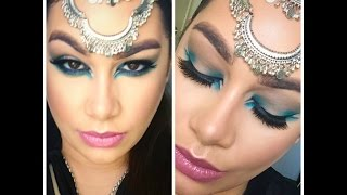 Cool Tone Arabic Inspired Makeup | NaturallyBeautiful