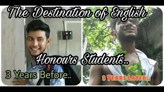 The Final Destination of English Honours Students Be Like || Bengali funny video ||