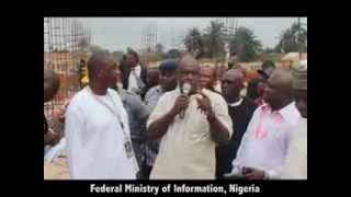 NGGTour:ANAMBRA STATE -  Inspection of the Teaching Hospital