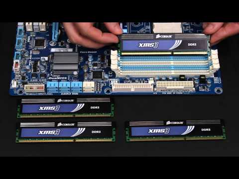 How to Install DDR3 RAM on Desktop Motherboard by OutletPC.com