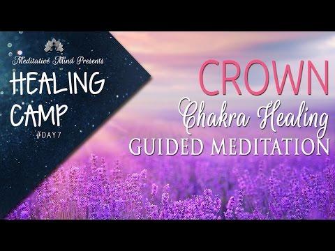 Crown Chakra Healing Guided Meditation | Healing Camp 2016 | Day #7