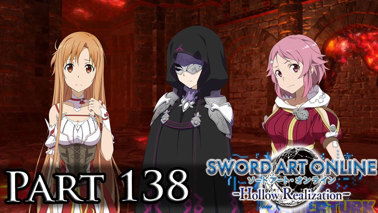 Sword Art Online: Hollow Realization - Saving the Masked NPC! [Part 138/PS4]