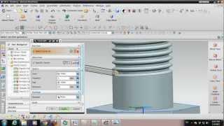 unigraphics   nx 8 tutorial   how to design a bolt