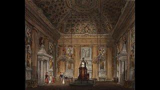 The christening of Queen Victoria