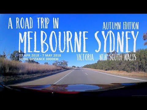 Melbourne Sydney Road Trip 2018 [43 Amazing Destinations] [4K]