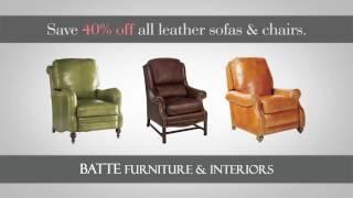Batte Furniture Leather Sale