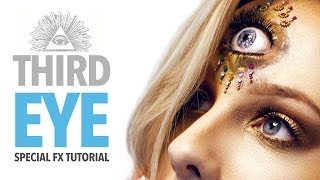 The third eye sfx makeup tutorial