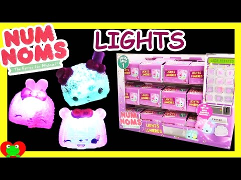 Num Noms Lights Lumieres Full Case Opening with Special Edition Finds