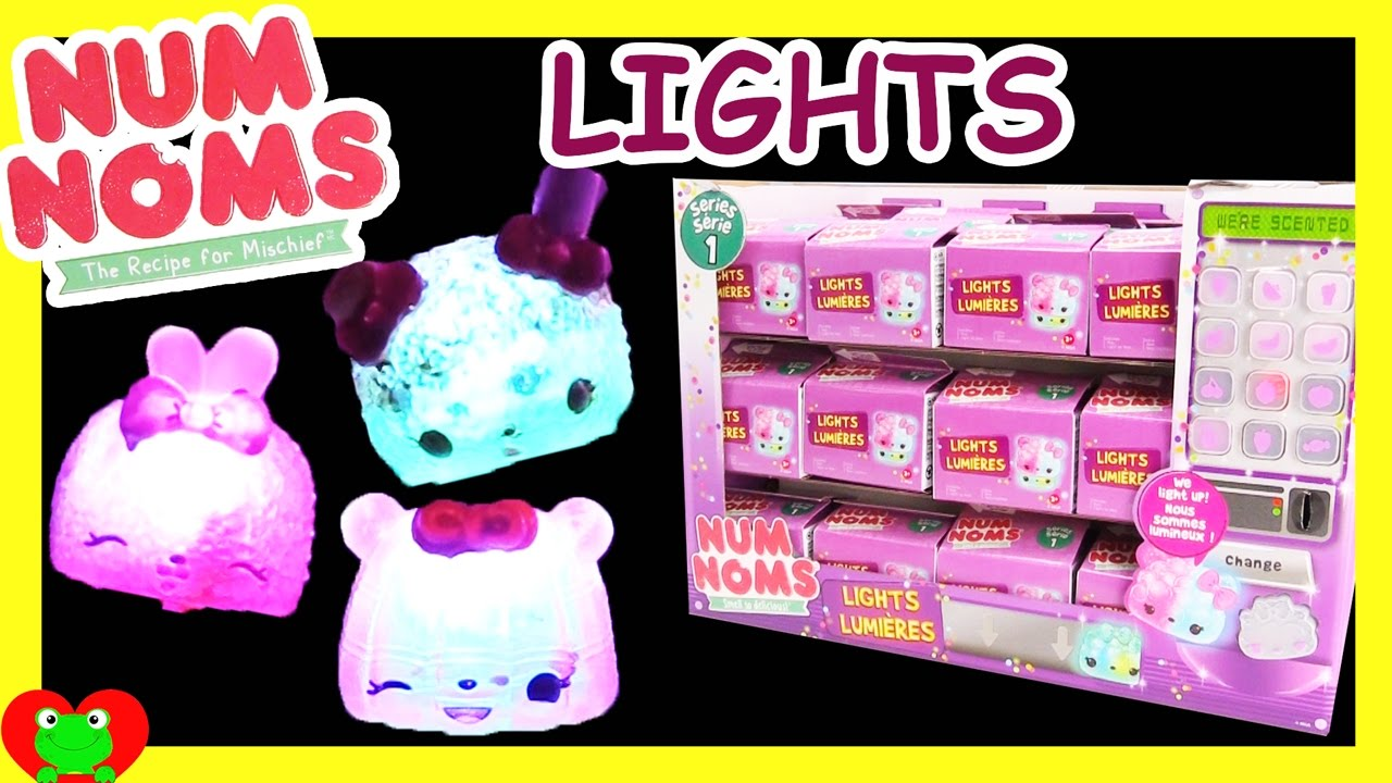 Num Noms Lights Lumieres Full Case Opening With Special