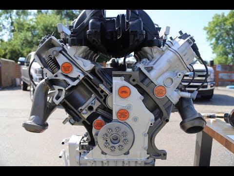 Inside Ford's 7 3-liter 'Godzilla' Gas V8 Engine