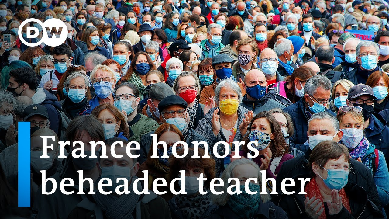 Download Thousands in France pay tribute to beheaded teacher | DW News