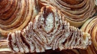 Рецепт - Булочки Зебра с шоколадной прослойкой
