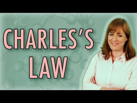 Chemistry: Charles's Law (Gas Laws) with 2 examples | Homework Tutor