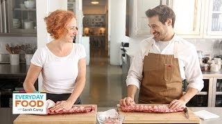 Make Your Barbecue Ribs Easier to Eat - Everyday Food with Sarah Carey