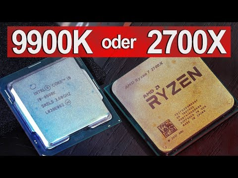 Welchen JETZT KAUFEN? -- Intel i9 9900K vs AMD Ryzen 7 2700X