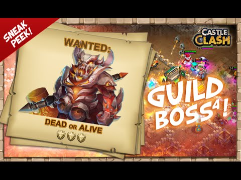 Castle Clash Guild Boss 4 Sneak Peak!