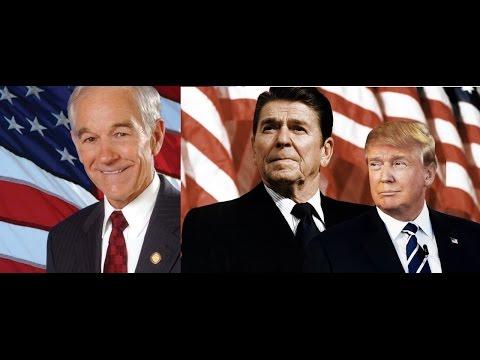 Ron Paul, Ronald Reagan and Donald Trump BEST SPEECHES