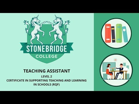 Teaching Assistant Course: Supporting Teaching and Learning (Level 2) from Stonebridge Colleges
