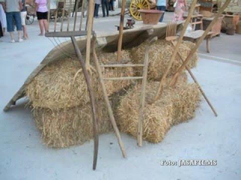 Exposicion aperos de labranza due as palencia espa a - Aperos agricolas antiguos ...