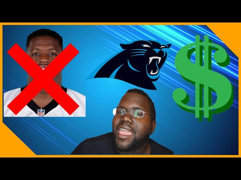 Carolina Panthers Release Jonathan Stewart!!! What Should They Do With Cap Space LCameraTV