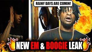 NEW Eminem And Boogie Leak! | Boogie ft. Eminem - Rainy Days (Snippet) REACTION!