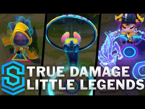 True Damage Little Legends | QiQi, Ossia And Melisma