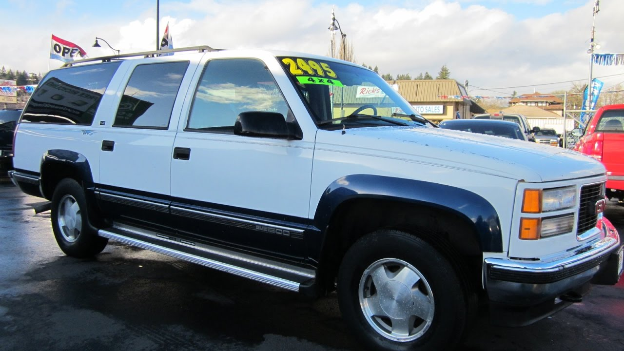 small resolution of 1996 gmc 1500 sle suburban 4x4 sold