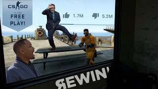 YouTube Rewind 2018 but it's an update for CS:GO that nobody asked for
