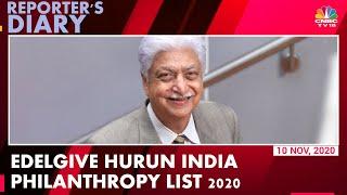 Azim Premji Tops Edelgive Hurun India Philanthropy List 2020 | Reporter's Diary