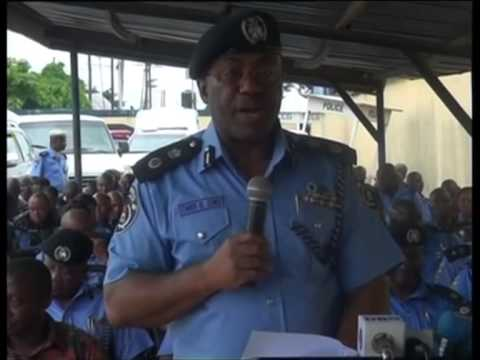 Police Parades Crime Suspects In Port Harcourt